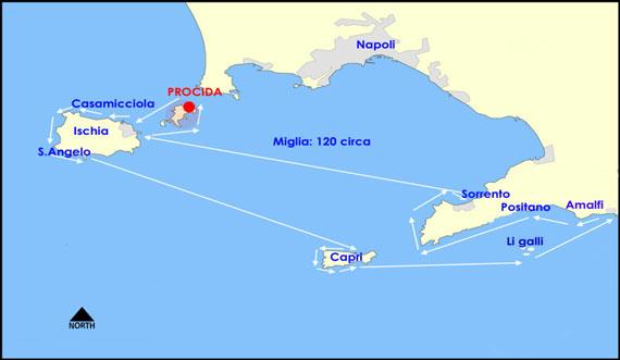 Cartina Costiera Amalfitana E Capri.Golfo Di Napoli E Costiera Amalfitana Vela Tra Procida Ischia Capri E Amalfinoleggio Barche A Vela Napoli Vacanze In Barca A Vela Charter Vela Con Skipper